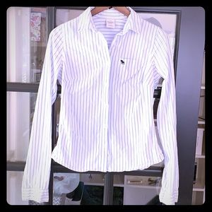 Abercrombie long sleeve oxford